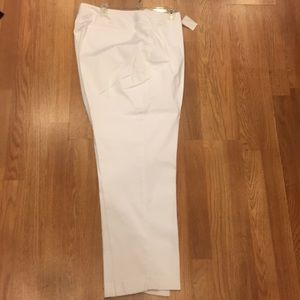 Anne Klein's White Casual Stretch Pants